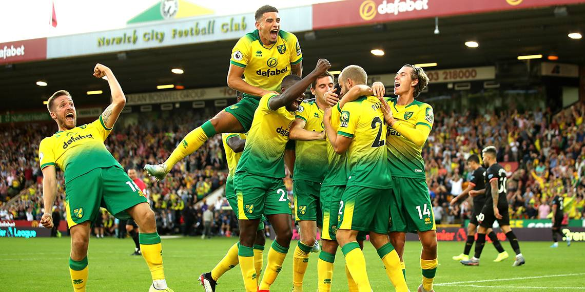 Tim sepak bola NORWICH CITY 2020